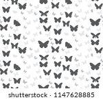 vector  silhouette of the... | Shutterstock .eps vector #1147628885