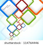 bright colorful background with ... | Shutterstock .eps vector #114764446
