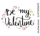 be my valentine.inspirational...   Shutterstock .eps vector #1147650695