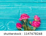 blue wooden surface with... | Shutterstock . vector #1147678268