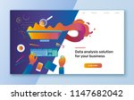 vector flat colorful... | Shutterstock .eps vector #1147682042