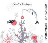 Merry Christmas Card  Whimsica...