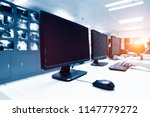 modern plant control room and... | Shutterstock . vector #1147779272