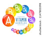 main vitamin icons for your... | Shutterstock .eps vector #1147803398