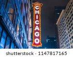 chicago illinois usa. 08 16 17  ...   Shutterstock . vector #1147817165
