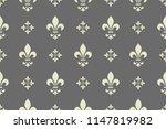 floral pattern. vintage... | Shutterstock .eps vector #1147819982