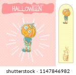 set of vector cartoon... | Shutterstock .eps vector #1147846982