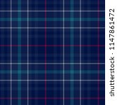 plaid seamless pattern. vector... | Shutterstock .eps vector #1147861472
