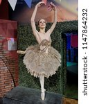 Small photo of BLACKPOOL, JANUARY 14: Madame Tussauds, UK 2018. Dame Darcey Andrea Bussell is an English retired ballerina and a judge on reality show Strictly Come Dancing.