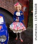 blackpool  january 14  madame... | Shutterstock . vector #1147866608