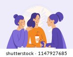 vector illustration in flat... | Shutterstock .eps vector #1147927685