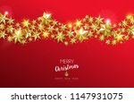 merry christmas and happy new... | Shutterstock .eps vector #1147931075