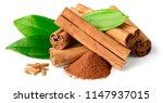 Close Up Of Cinnamon Sticks...