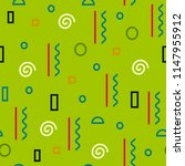seamless pattern. geometric... | Shutterstock .eps vector #1147955912