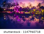 abstract multiple exposure... | Shutterstock . vector #1147960718