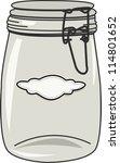 Vector Od Empty Jar