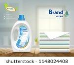 laundry detergent in plastic... | Shutterstock .eps vector #1148024408