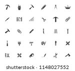 repair tools icons set  ... | Shutterstock .eps vector #1148027552