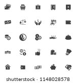 money icons  money cash icons... | Shutterstock .eps vector #1148028578