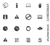 information icons set   info... | Shutterstock .eps vector #1148028665