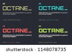 vector light regular bold and... | Shutterstock .eps vector #1148078735