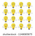 Light Bulb Characters Set...