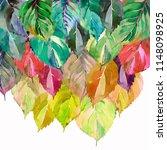 lovely group of the autumn...   Shutterstock . vector #1148098925