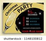 christmas party invitation... | Shutterstock .eps vector #1148100812