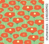 seamless vector background red... | Shutterstock .eps vector #1148100902
