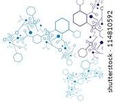 molecular structures | Shutterstock .eps vector #114810592