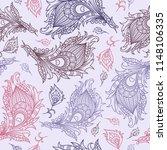 vector ethnic wallpaper....   Shutterstock .eps vector #1148106335