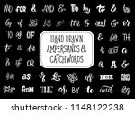 ampersands and catchwords... | Shutterstock .eps vector #1148122238