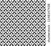 chevrons  mini diamonds... | Shutterstock .eps vector #1148147438