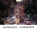 lights from crosstown traffic...   Shutterstock . vector #1148185505