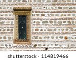 Small Window On Ancient Wall...