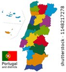 european country portugal and... | Shutterstock .eps vector #1148217278