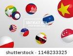 aec  asean economic community ... | Shutterstock .eps vector #1148233325