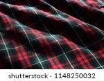 tartan material fabric with... | Shutterstock . vector #1148250032