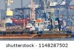 gdynia  pomerania region  ... | Shutterstock . vector #1148287502