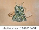 summer print design for clothes ... | Shutterstock . vector #1148310668