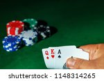 casino games concept poker... | Shutterstock . vector #1148314265