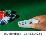 casino games concept poker... | Shutterstock . vector #1148314268