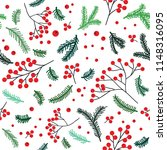 forest seamless pattern with... | Shutterstock .eps vector #1148316095