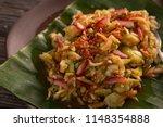 rujak serut. indonesian fruit... | Shutterstock . vector #1148354888