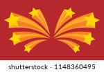 stars burst elements  vector... | Shutterstock .eps vector #1148360495