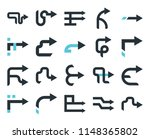 set of 20 simple editable icons ... | Shutterstock .eps vector #1148365802