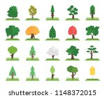 set of 20 icons such as quaking ...