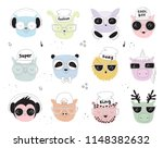 vector collection of line... | Shutterstock .eps vector #1148382632