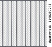 prison metal bars template with ...   Shutterstock .eps vector #1148397245