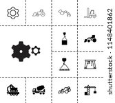 machinery icon. collection of...   Shutterstock .eps vector #1148401862